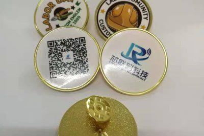 RFID校微,纪念微章